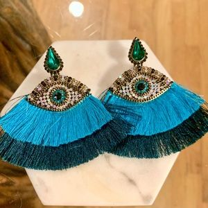 ETHNIC FRINGE ETHERIAL EARRINGS